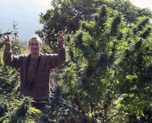 """""""Hash Quest in Morocco"""" with High Times Magazine March 2010 issue."""
